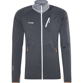 Bergans Galdebergtind Jacket Herren solid charcoal/solid grey/pumpkin